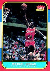 [Michael Jordan] 1986-87 Fleer #57 (RC!) Free S&H!