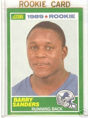 [Barry Sanders] 1989 Score #257  (RC) Free S&H!