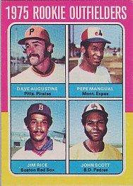 [Jim Rice] 1975 Topps #616  (RC!)