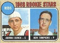 [Johnny Bench] 1968 Topps #247  (RC!) Over 50% Off Of Beckett Book Value!