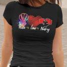 Peace Love Nurse  Nurse Shirt  Nurse School  Nurse Gifts  Nurse Squad