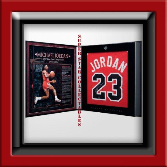 Michael Jordan Autographed Jersey Limited Edition Box