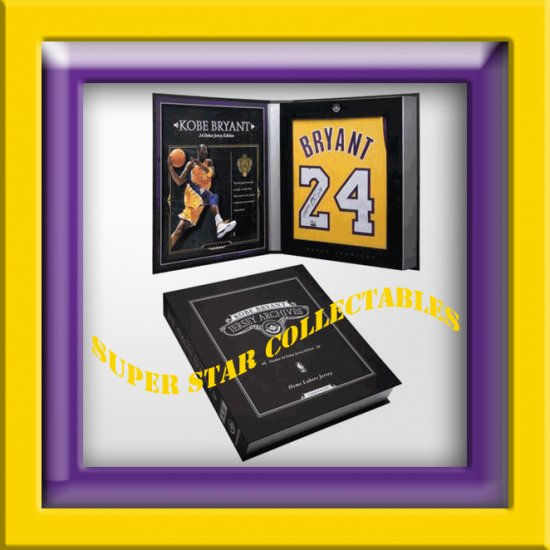 Kobe Bryant Autographed Jersey Limited Edition Box