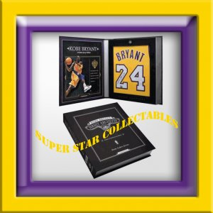 Kobe Bryant Autographed Jersey Limited Edition Box