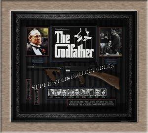 Godfather Autographed Shadow Box