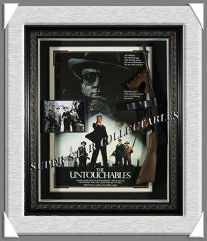 The Untouchables Autographed Shadow Box