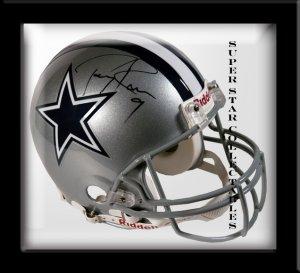Tony Romo Autographed Dallas Cowboys Helmet