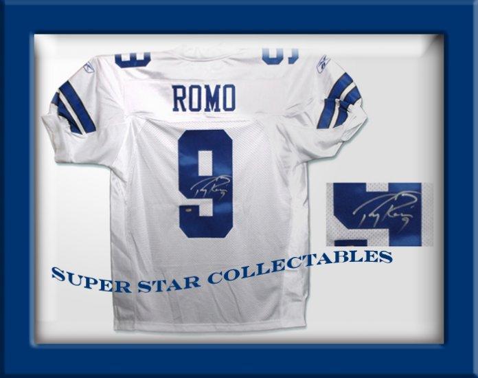 Tony Romo Autographed Dallas Cowboys Jersey