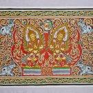 "Original Wall Art Sand Painting Canvas - Heavenly Angels - 71cm x 46cm /28""x 18"""