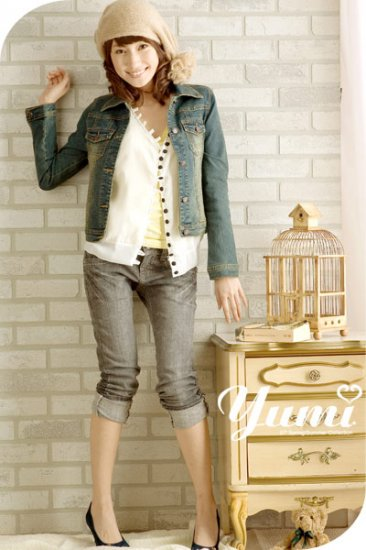Seasoned jeans jacket