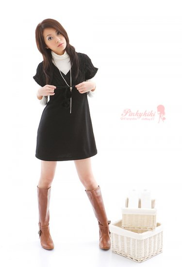 T30-Knitted wool top/dress