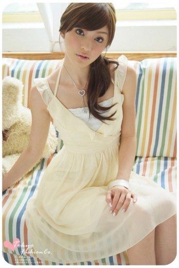 Romantic chiffon dress