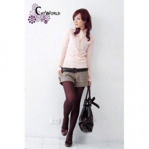 A3-Charming Elastic Stockings - Grape