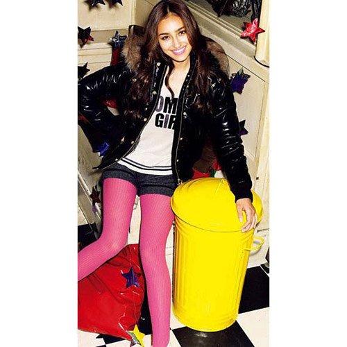 A1-Rose pink fashion leggings