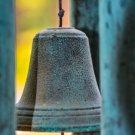 Vintage Bell Wind Chimes Digital Image