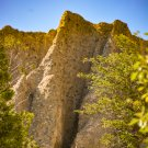 Sand Dunes Cliff Front Digital Image