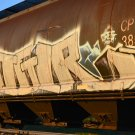 Creg Freight Train Graffiti Transportation Digital Art Image Photograph
