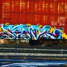 Lords Freight Train Graffiti Transportation Digital Art Image Photograph