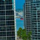 Pier Between Skyscrapers 1 Digital Image Art Photography