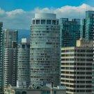 City Skyscraper Views Digital Art Image Photograph