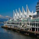 Vancouver Convention Center Digital Art Image Photograph