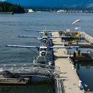 Boat and Plane Dock Digital Art Image Photograph