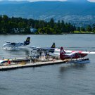 Plane Dock Digital Art Image Photograph