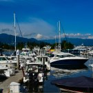 Boat Harbour Digital Art Image Photograph