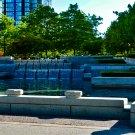 City Water Fountain Digital Art Image Photograph