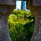 Pillars With A View Digital Art Image Photograph