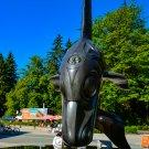 Killer Whale Orca Statue