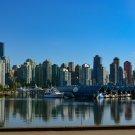 City Skyline Digital Art Image Photograph