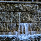 Water Fountain Wall Digital Art Image Photograph
