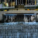 Water Fountain Wall 1 Digital Art Image Photograph