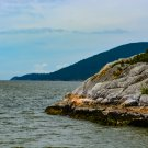 Rock Outcropping Ocean Digital Art Image Photograph