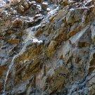 Cliff Side Waterfall Digital Art Image Photograph