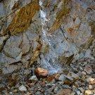 Cliff Face Waterfall 2 Digital Art Image Photograph