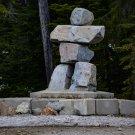 Rock Statue Digital Art Image Photograph