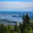 City Skyline Ocean Digital Art Image Photograph