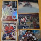 5 NHL Hockey Card Montreal Canadiens Patrick Roy Colorado Avalanche Lot Price