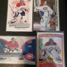 4 NHL Hockey Card Montreal Canadiens Carey Price Lot Score Making An Entrance