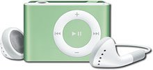 Apple� - iPod� shuffle 1GB* MP3 Player - Green