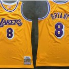 Men's Lakers Kobe Bryant 1996 1997 Throwback Jersey High Quality Stitched Yellow