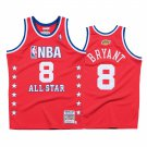 Men's Los Angeles Lakers Kobe Bryant Red 2003 All Star Jersey Stitched