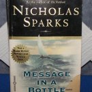 Message in a Bottle by Nicholas Sparks FREE Shipping to US