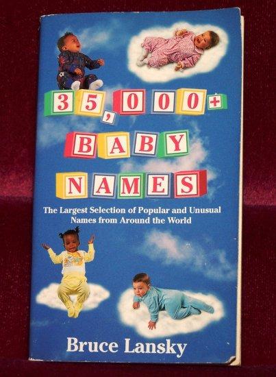 35,000+ Baby Names by Bruce Lansky