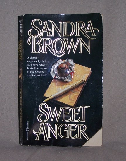 Sweet Anger by Sandra Brown FREE Shipping to US