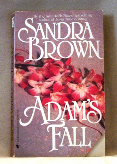 Adam's Fall by Sandra Brown FREE Shipping to US