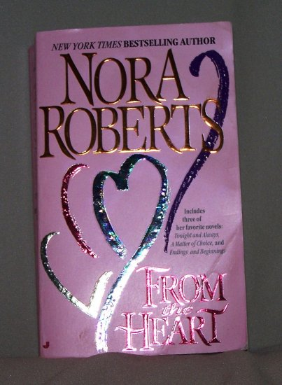 From The Heart by Nora Roberts FREE Shipping to US