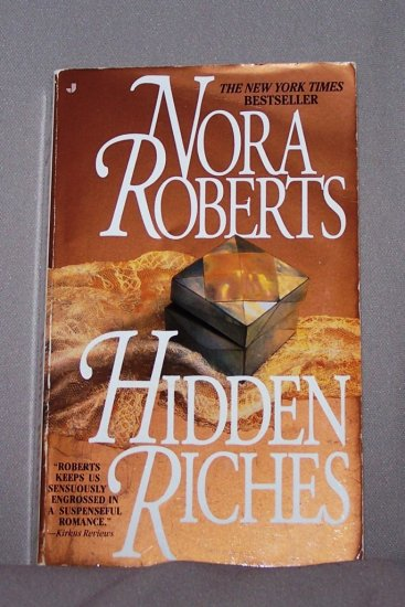 Hidden Riches by Nora Roberts FREE Shipping to US